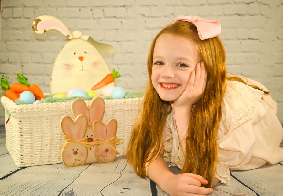 An impromptu Easter session with my love!  She is actually wearing my Easter dress frim when i wa...