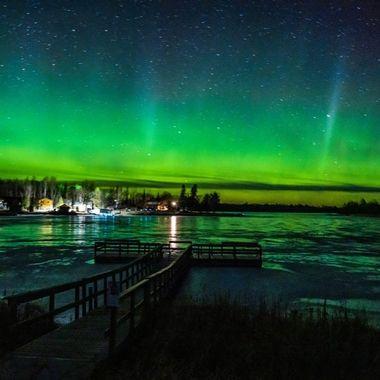Taken from the bike path on Tilson Bay, Rainy Lake, Northern Minnesota