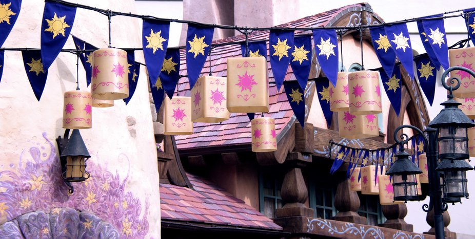 Rapunzel Village Disney