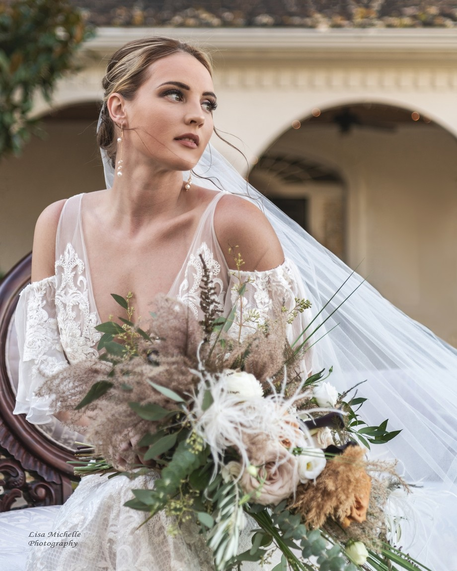 Windblown by lisadean - A Bride Story Photo Contest