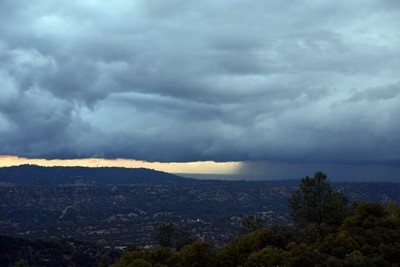 Storm over Foothills