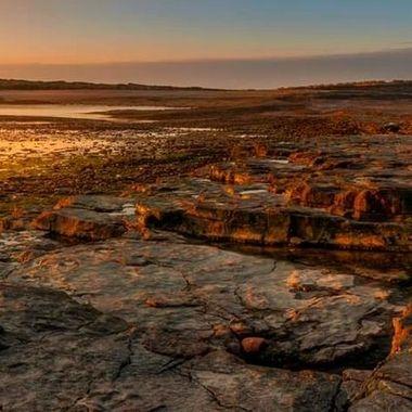 sunrise at Sully Island