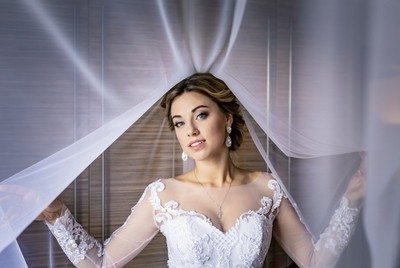 Bride at her greatest day