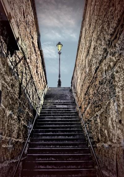 Paris Stairway