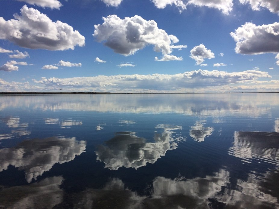 I love clouds and water. This is the best of both.