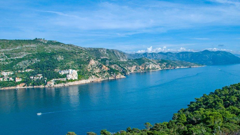 Beautiful day in Dubrovnik ..