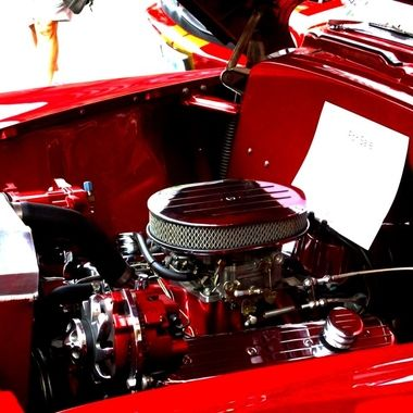 Car engine  Hot rods antiques classics and engines  Street show Manchester New Hampshire