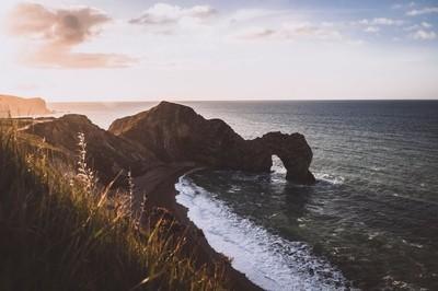 Durdle Door, Dorset af dawn