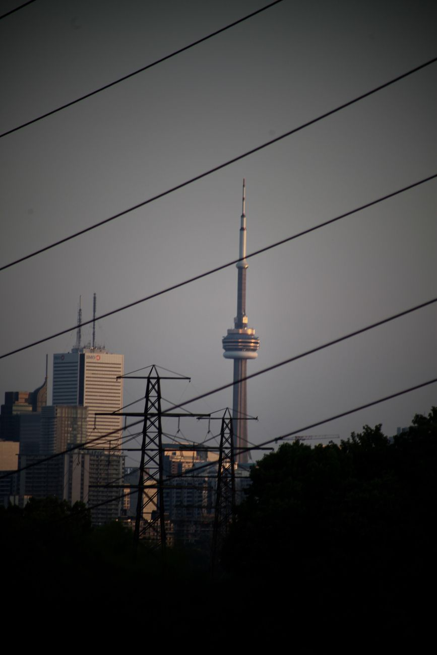 CN TOWER EVRYWHERE BY YANNIS LOBAINA