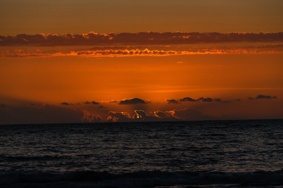 Atardecer Playa Llacolen