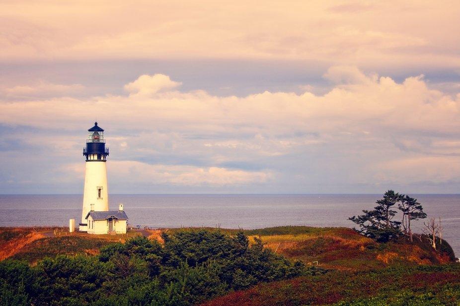 Yaquina Head Lighthouse is Oregon...
