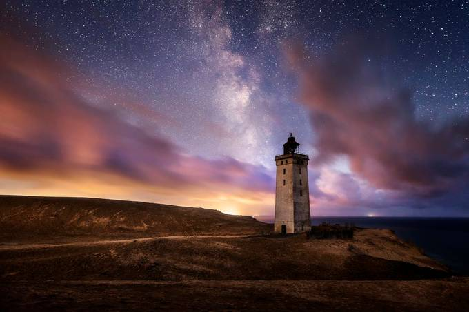 Rubjerg Knude Lighthouse Night by madspeteriversen - Covers Photo Contest Volume12