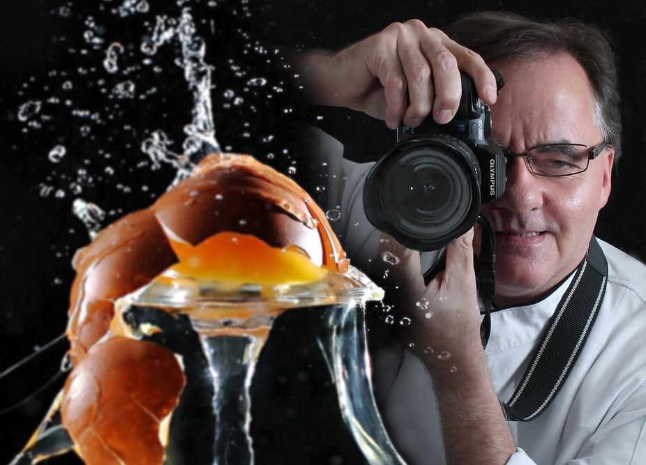 Egg Splash Photographer