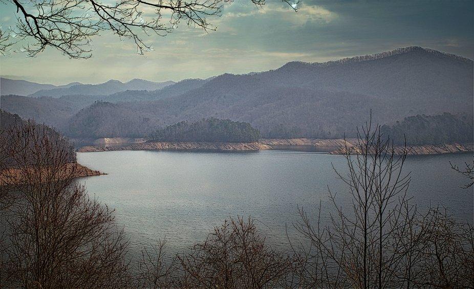 Visiting the Smokey Mountains near Bryson City, NC