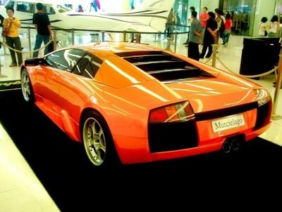 Futuristic car Murcielago