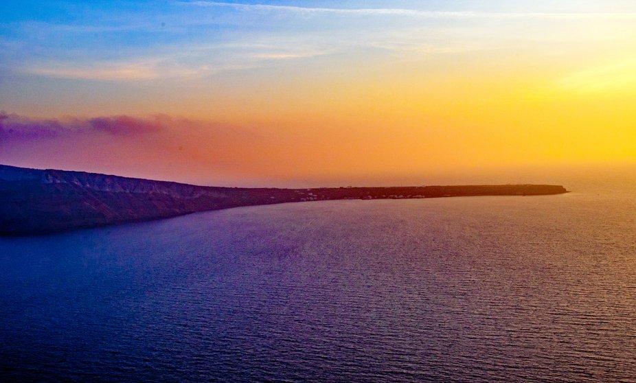 The Stunning Santorini Sunset ...