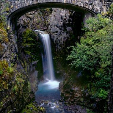 Christine Falls (Mt Rainier National Park, Washington)