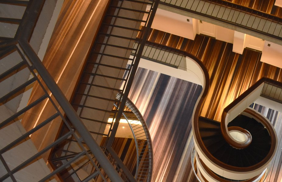 Upper-Level Shot in the Marriott Marquis Hotel, Atlanta
