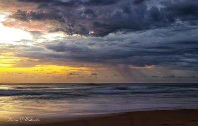 Rain At Sunrise
