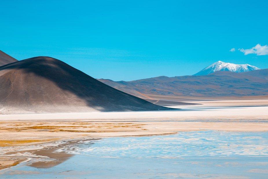 photograph taken in the most arid desert in the world