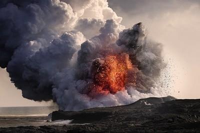 Kilauea Volcano at Kalapana 8