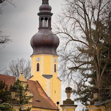 Church in Neschwitz, Saxonia