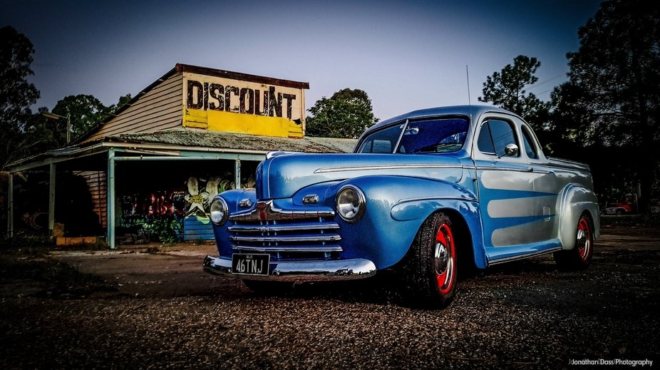 Fully restored 1946 Ford Deluxe Coupe Ute