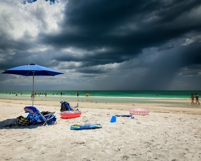Weather in Florida comes quickly.