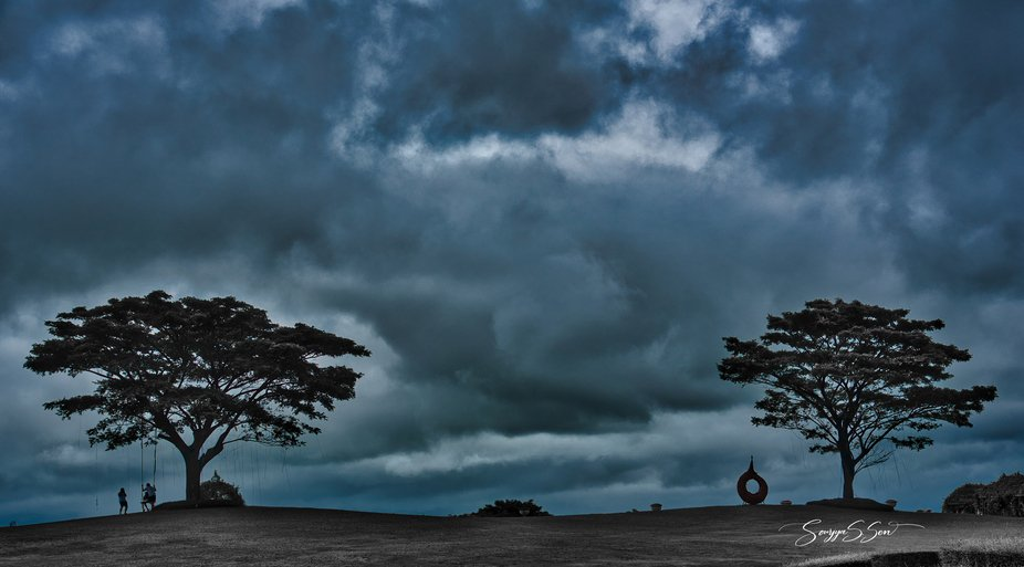 Even a stormy and thoroughly overcast sky has its own intrinsic beauty. This is my attempt at mak...