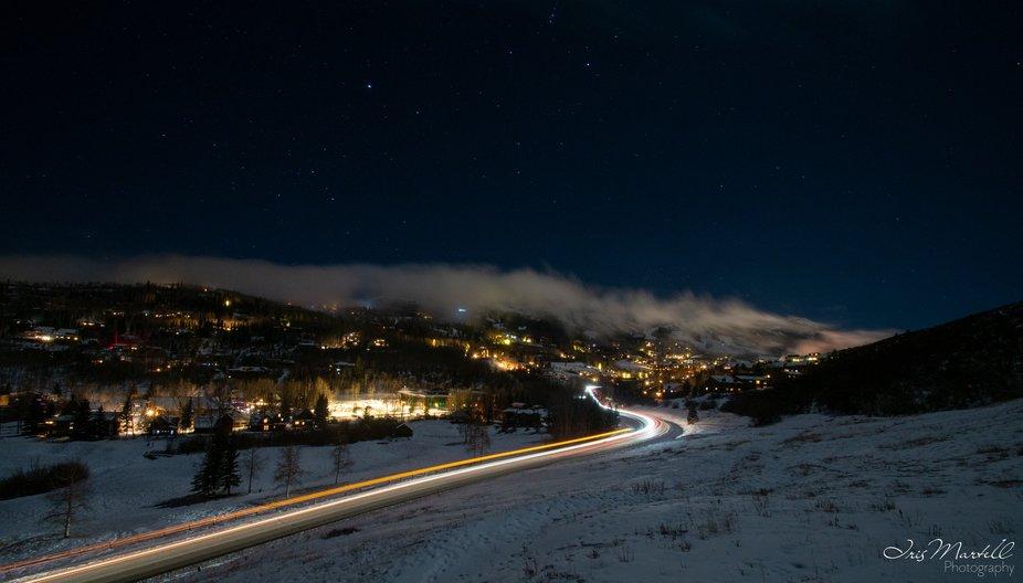 Snowmass Night Trails