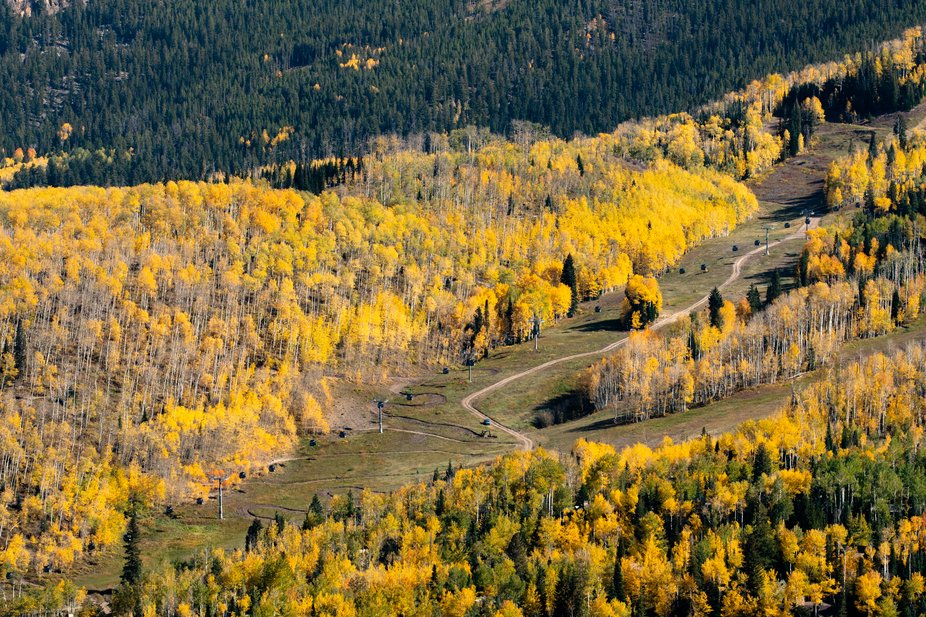 Fall In Snowmass Colorado - Hiking the Rim Trail