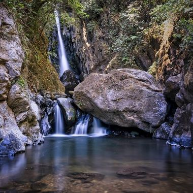 little water fall in Mexico
