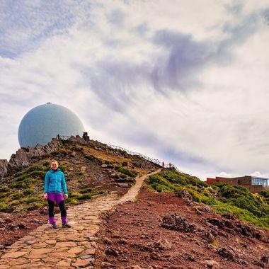 Radar station on Pico Arieiro