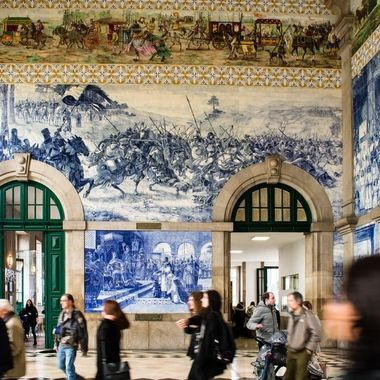 Central Station in Oporto