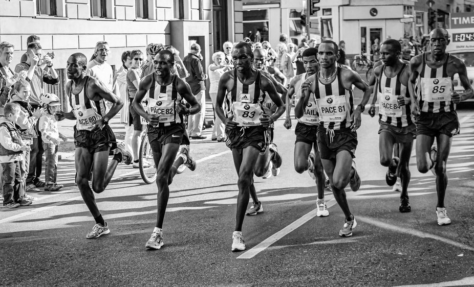 Once upon a time there was a marathon in Berlin...   Part 1: The Pacemakers with Haile  Haile Geb...