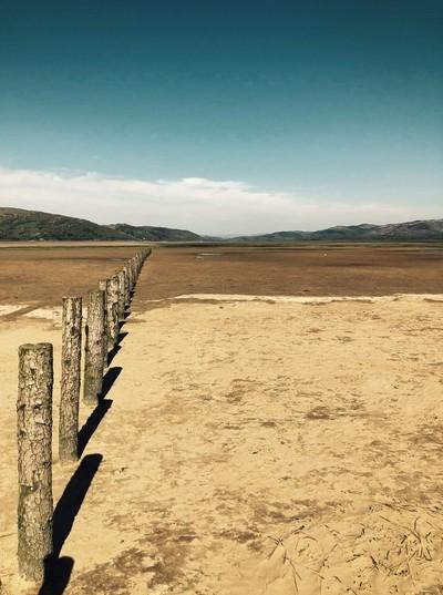 Borth Estuary wales uk