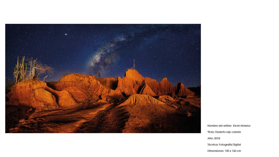 Desierto rojo celeste