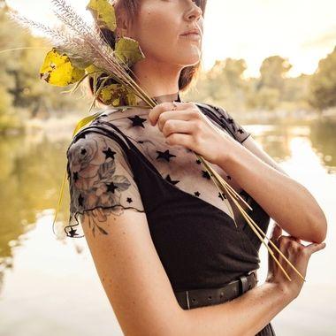 Featured in Penida Magazine  Photography: Christopher Cornish Wardrobe: Josie Austin and Denise Cruz Model: Alicia Duckworth