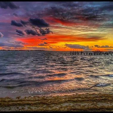 Surf City Sunset 4-30-21