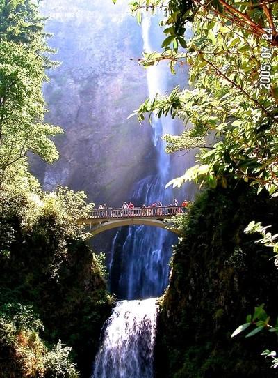 Multnomah Falls Bridge
