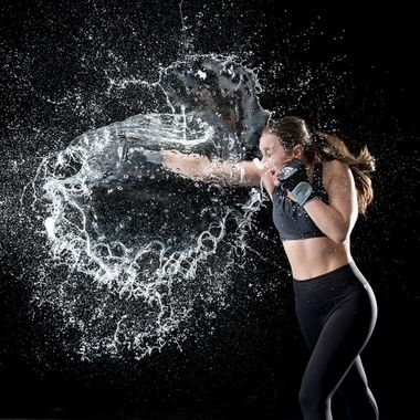 Kickboxer:  Marie Duponchel / @mariedpc