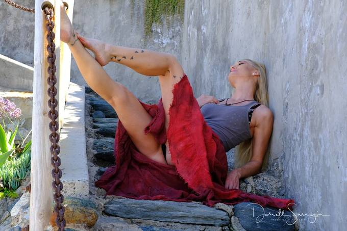 Recent shoot at Laguna beach, waiting for the sun to come around.