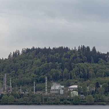 A local refinery