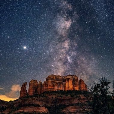 Cathedral Rock Milkyway