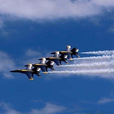 US Navy Blue Angels, Ft Lauderdale Airshow 2021