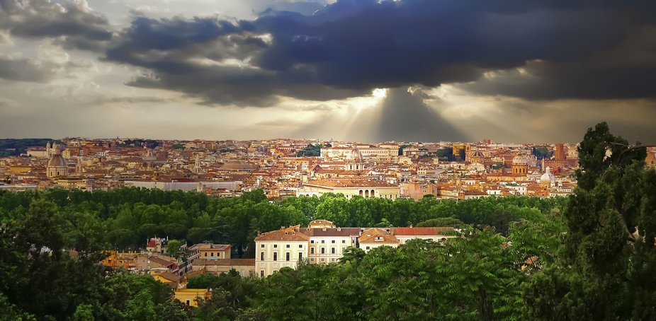 Stormy Rome