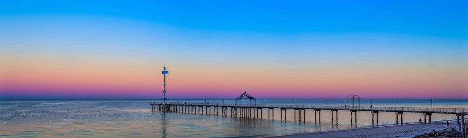 Sunrise over Brighton Jetty