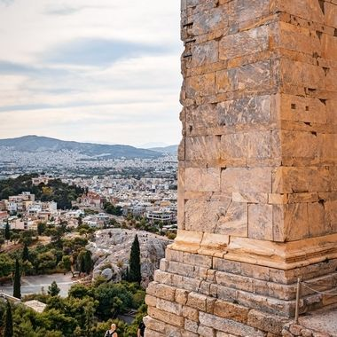Look from Acropolis, Greece