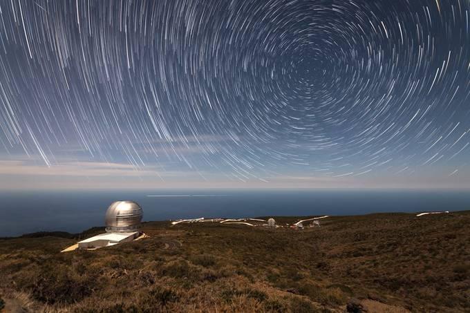 Gran Telescopio Canaria by hasmonaut - Mysterious Nights Photo Contest