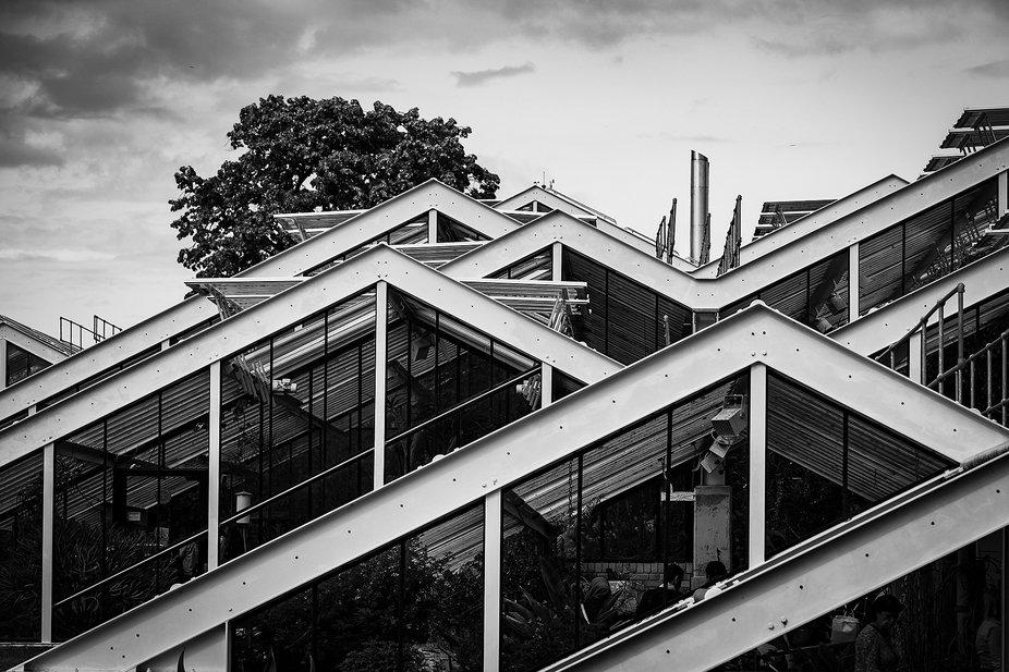 Glasshouse, Kew Gardens, England
